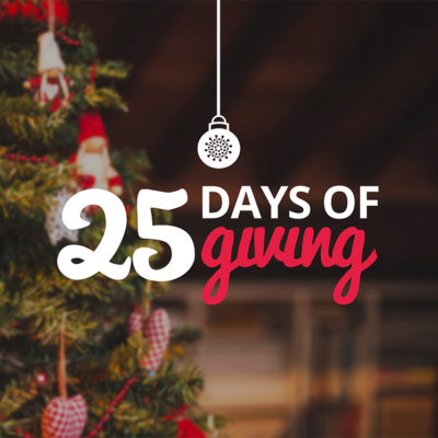 Join Us For 25 Days Of Giving!