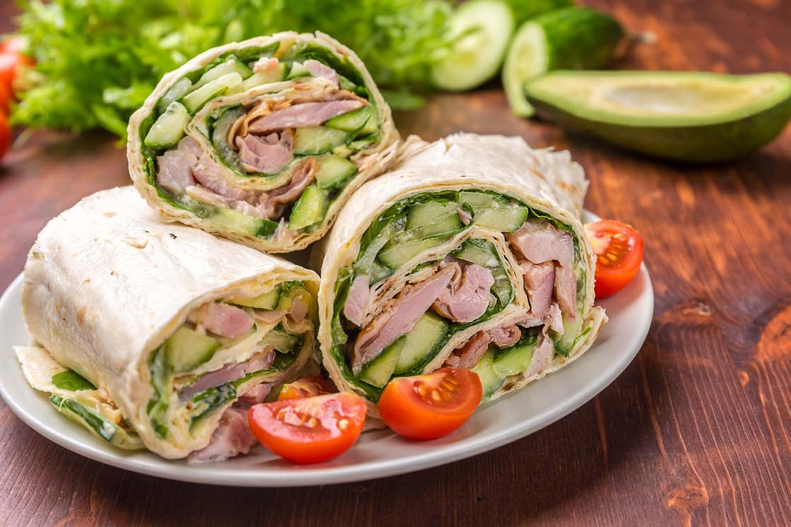 turkey wrap recipe