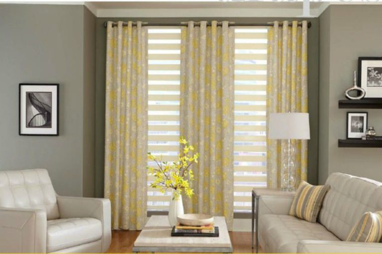 how to hang curtains easily