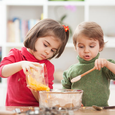 Cooking With Your Kids: Milanesa Steaks With Chimichurri Quinoa