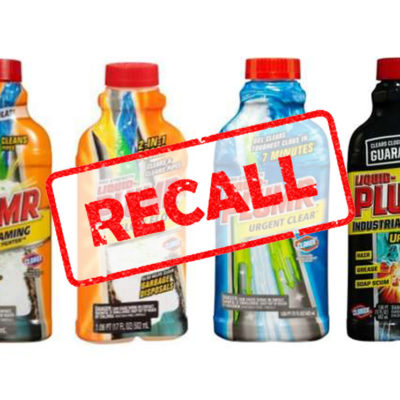 Clorox voluntarily recalls millions of Liquid Plumr products