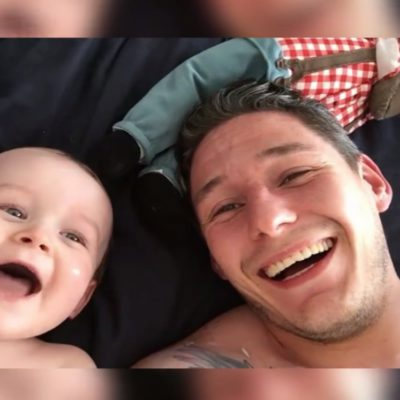 """Dad And Baby """"Wassup"""" Contest"""