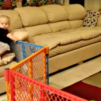 Mission: Escape! Witty Toddlers Find Their Way Out Of Confinement