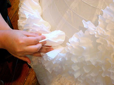 Diy Beautiful Coffee Filter Paper Lantern