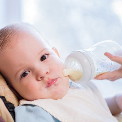 Help! My baby may be allergic to milk!