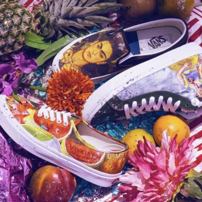 Wear a Pair of Frida Kahlo's Work on a Pair of Your Kicks for a Limited Time